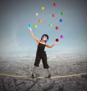 work-life juggle