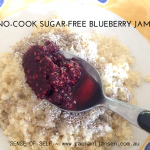 No-cook, sugar-free jam
