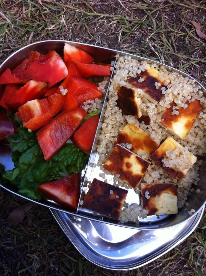 quinoa halumi